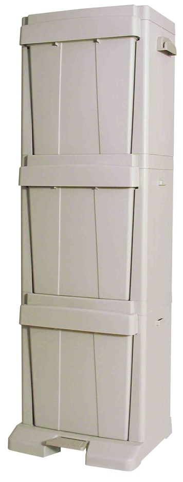 kitchen storage bins 3 opening recycling bin storage container pantry and 3123