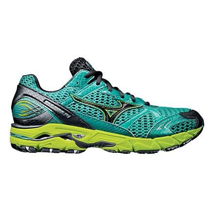 I don't know why, but I really like this horrid color combination on my favorite running shoe.  I just pre-ordered.   Mizzuno Wave Rider 14