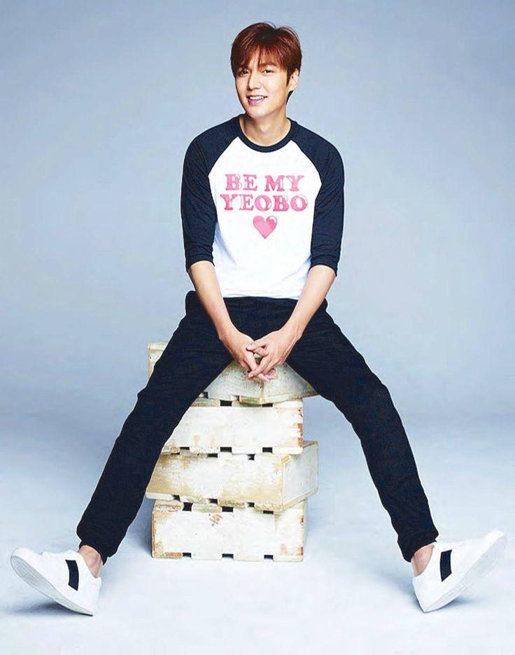 "2016 #Bench #Philippines T-Shirt ""Be My Yeobo"" by #Brand #Ambassador #Korean #Actor #LeeMinHo (Source: Philippines Star Newspaper / EDITED Version on 24 Feb 2016) T-03-02 Post: 07 March 2016"