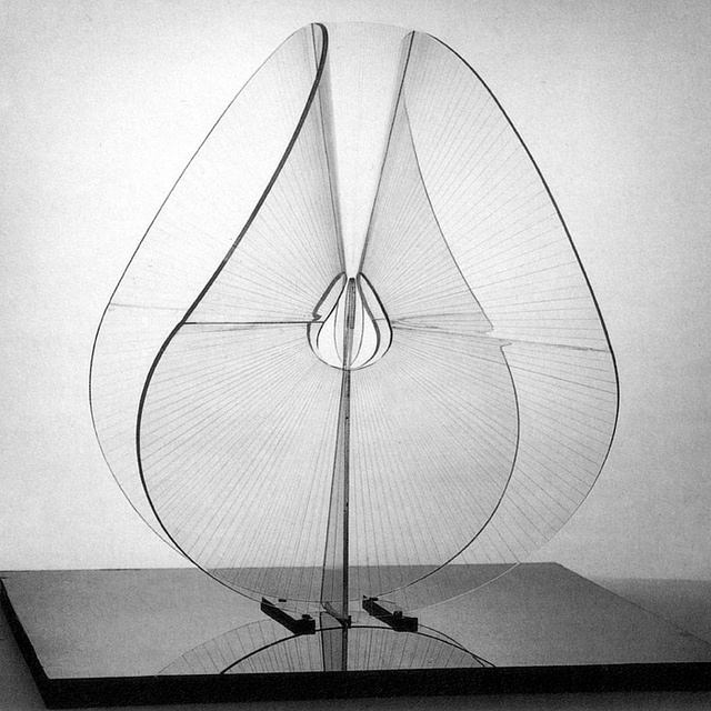 Sculpture by Naum Gabo