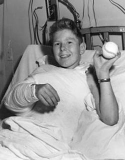 May 23, 1962: A team of 12 doctors at Massachusetts General Hospital in Boston reattaches the severed arm of an injured boy. It is the first successful reattachment of a human limb.