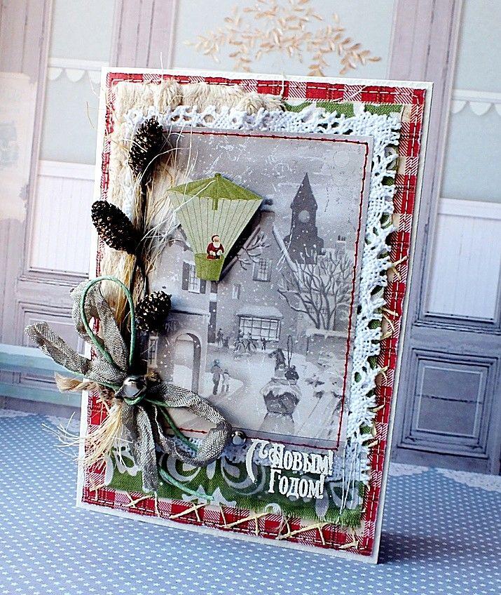 ютуб новогодние скрап открытки объемные дело двум