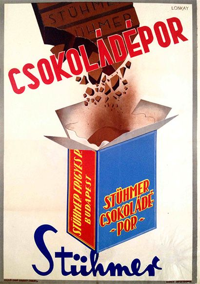 Stühmer chocolate powder (Lonkay Antal, 1947.)