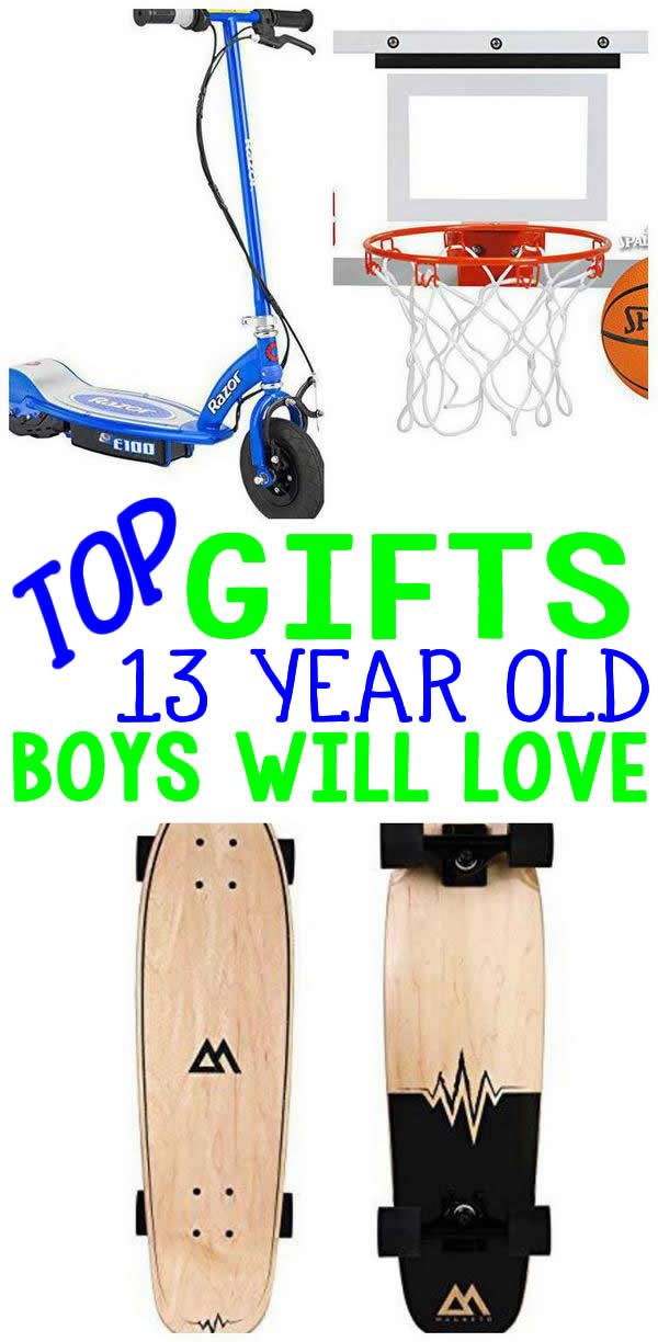 DO NOT Miss The BEST Gifts For 13 Year Old Boys EPIC They Will Love Presents A 13th Birthday Christmas Or Holiday