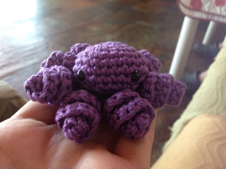 #amigurumi #pulpo #octopus