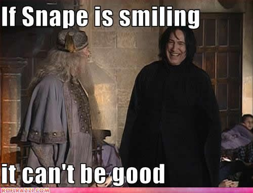 25 Snape Memes In Honor Of Alan Rickman #refinery29  http://www.refinery29.com/2016/01/100213/best-snape-harry-potter-memes#slide-10  Snape and Dumbledore in happier times....
