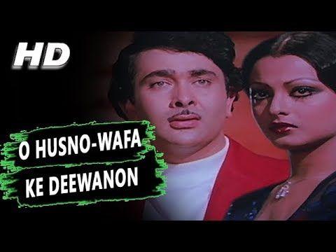 O Husno-Wafa Ke Deewanon | Kishore Kumar Asha Bhosle | Ram Bharose 1977 Songs | Randhir Kapoor