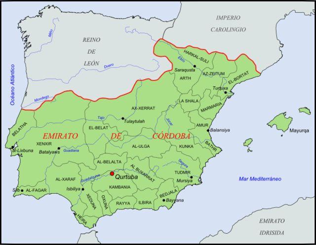 Emirate of Córdoba 756-929 AD