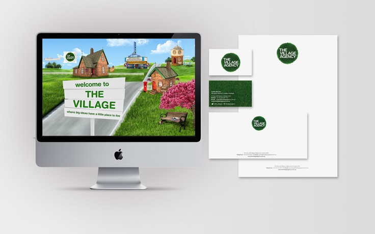 Our own branding.... #bythevillagers of course!  Villagers : @Justine Bloome and @Prue Barber
