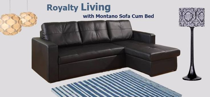 Bring home the Montano Sofa Cum Bed, a perfect blend of style and functionality to spruce up the elegance of your home.
