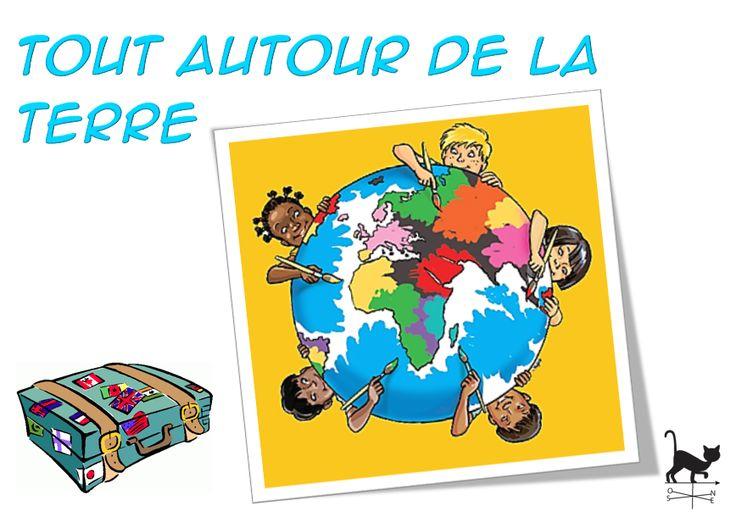 Projet Tout autour de la Terre - Le blog de Chat noir