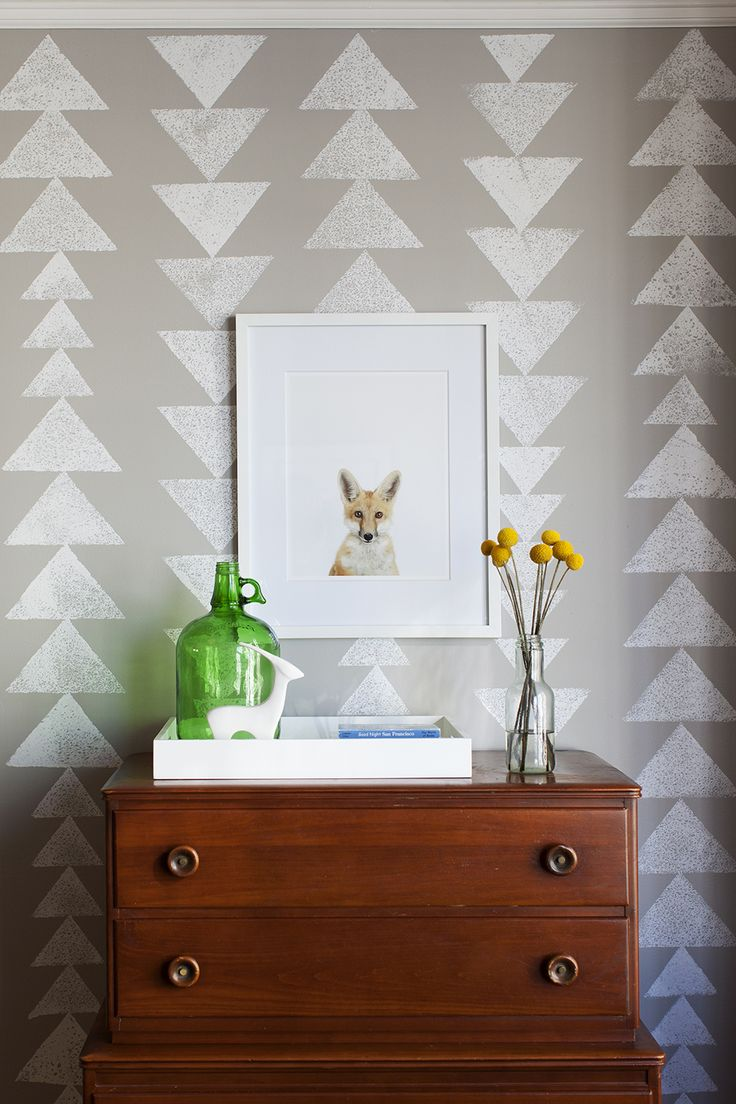 Toddler Room by Betz Design Studio Fox Print from The Animal Print Shop by Sharon Montrose