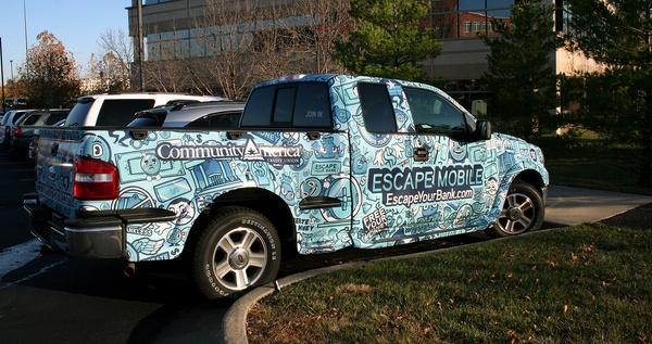 Community America Credit Union Car Wraps