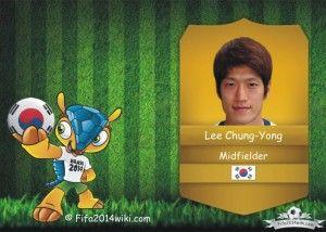 Lee Chung-Yong - South Korea Player - FIFA 2014