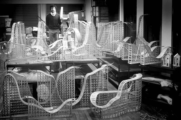 Roller Coaster – Les créations de Lorenzo Papace