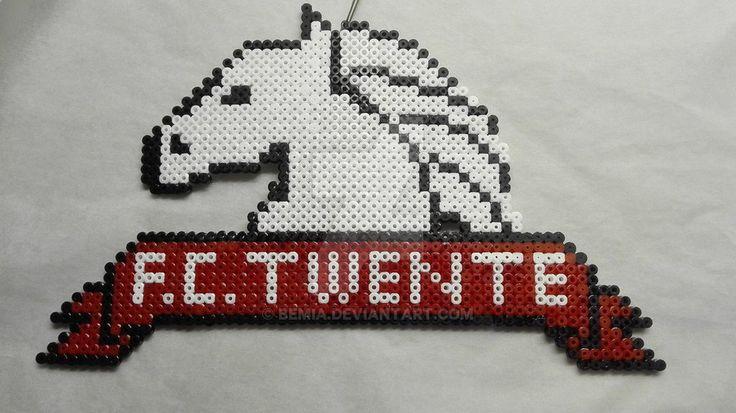 FC twente logo own interpertation by Bemia
