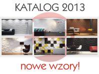 NEW catalog of decorative panels Dunes 2013