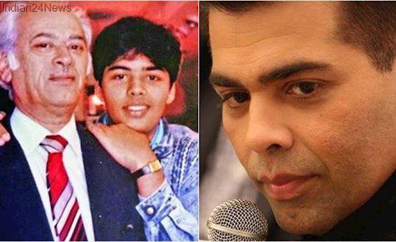 Karan Johar remembers father Yash Johar on death anniversary, says 'his teachings are my lifeline'. See photo