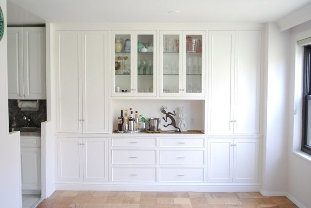 Another idea for wall in kitchen - counter & storage.  dining wall unit Google Image Result for http://www.hatfactoryfurniture.com/wp-content/uploads/2010/05/Lisa-Green-Sofa-56.jpeg