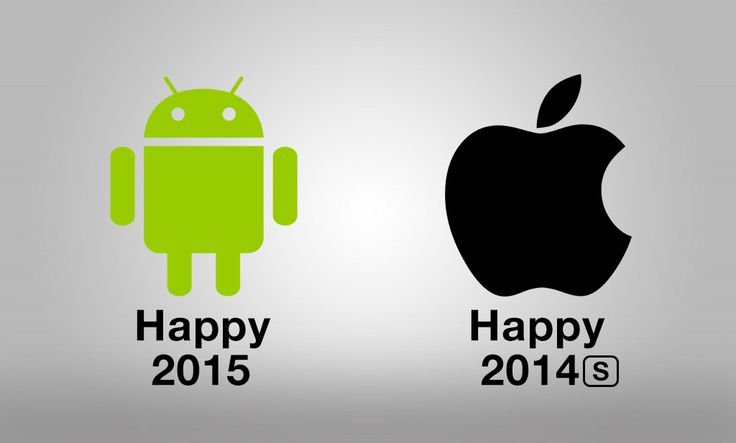 Apple vs Android Happy 2015