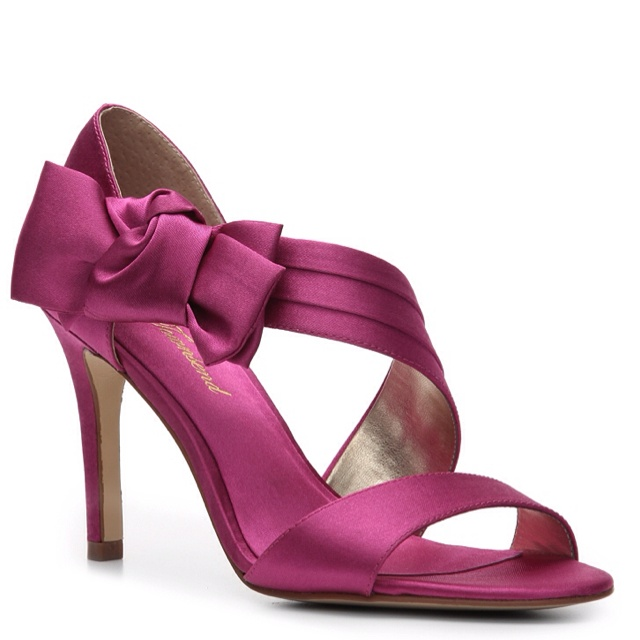 Bridal Shoes Dsw: 25 Best Cerise Pink & Grape Wedding Images On Pinterest