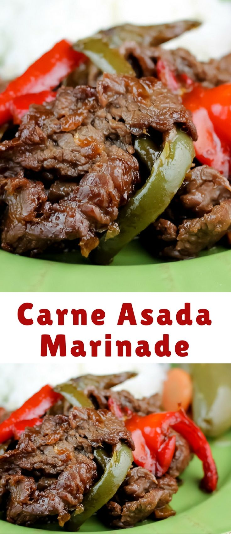 The marinade is an amazing concoction of citrus , spice and sweet. It's flavorful without being overpowering. The lemon juice gives it a bright flavor, the amount of spice was perfect. I am definitely going to get a lot of use out of this recipe.