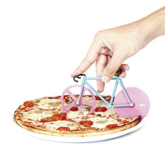 Witziges Accessoire für deine Küche: Fixie Pizzaschneider stardust