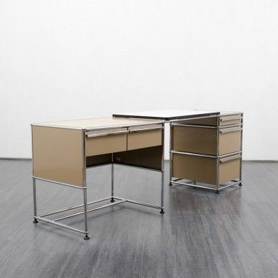 Writing Desk from the sixties by Fritz Haller for USM Haller