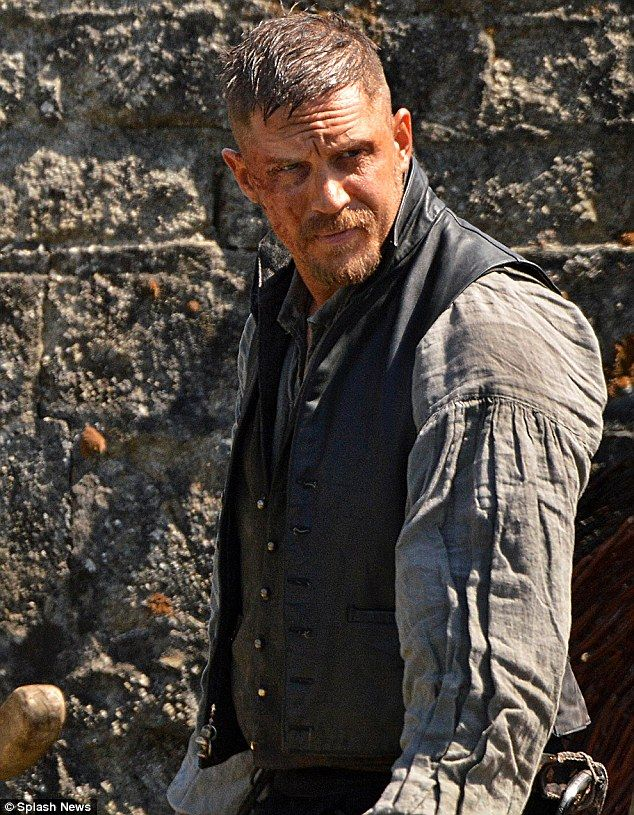 Period: Once layered down, he showed off his leather doublet, worn over a waistcoat and shirt to try to beat the heat