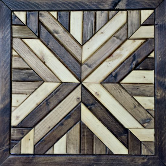 Wood Quilt Square (Gawker)