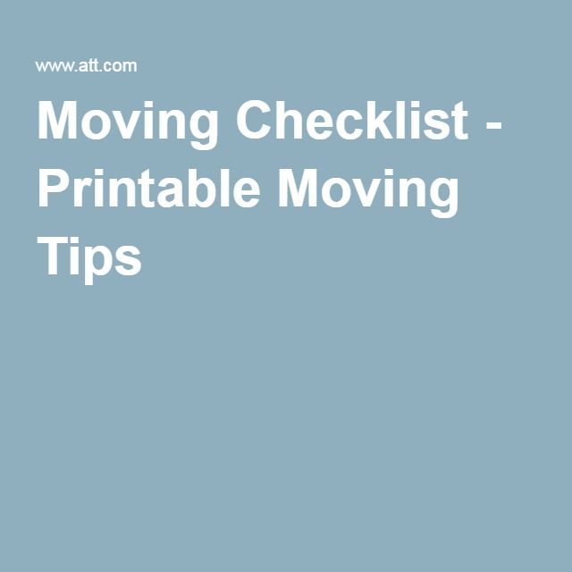 94 Best Moving Tips Images On Pinterest | Moving Tips, Moving Day