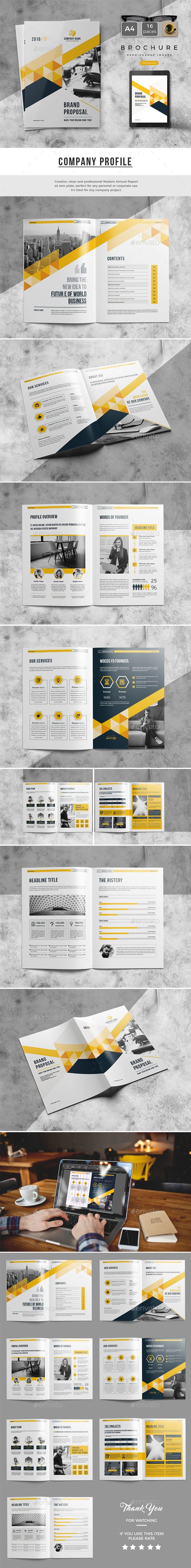 Proposal 2017 58 best Business Brochure images