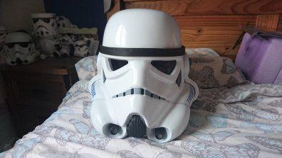Stormtrooper FX Helmet for sale (Full Life Size)