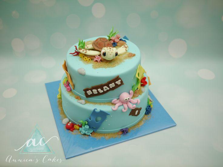 Squirt  Cake / schildpad taart