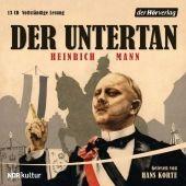 Der Untertan, 13 Audio-CDs