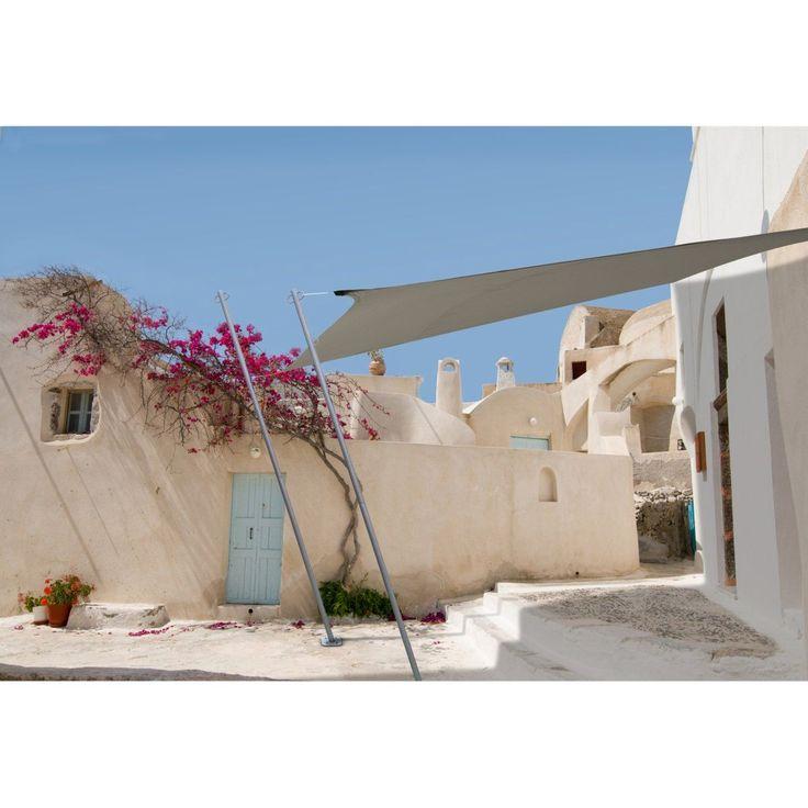Voile d'ombrage rectangulaire IDEANATURE : prix, avis & notation, livraison.  Cette voile d'ombrage rectangulaire est déperlante et traitée contre les UV. Elle permet de couvrir élégamment votre terrasse ou un coin de jardin. CARACTÉRISTIQUES VOILE D'OMBRAGE :- Voile traitée anti UV et déperlante- Voile en 100% polyester densité 160 g/m²- Livrée avec 4 cordes Ø 0,6 cm x long. 150 cm.- Dim. de la voile : 2,9 m x 4 m. La R 65 €