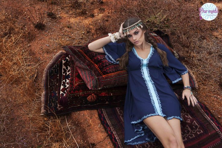Tunic Maha・Out of Africa lookbook
