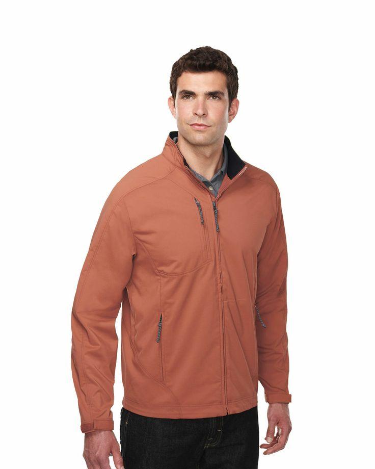 Mens dobby full zip jacket (96% polyester 4% Spandex). Tri mountain J6205 #Men #Trimountain #dobby #Jacket #Polyester #Spandex