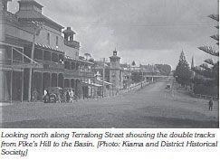 Terralong Street, Kiama. Early 1900's