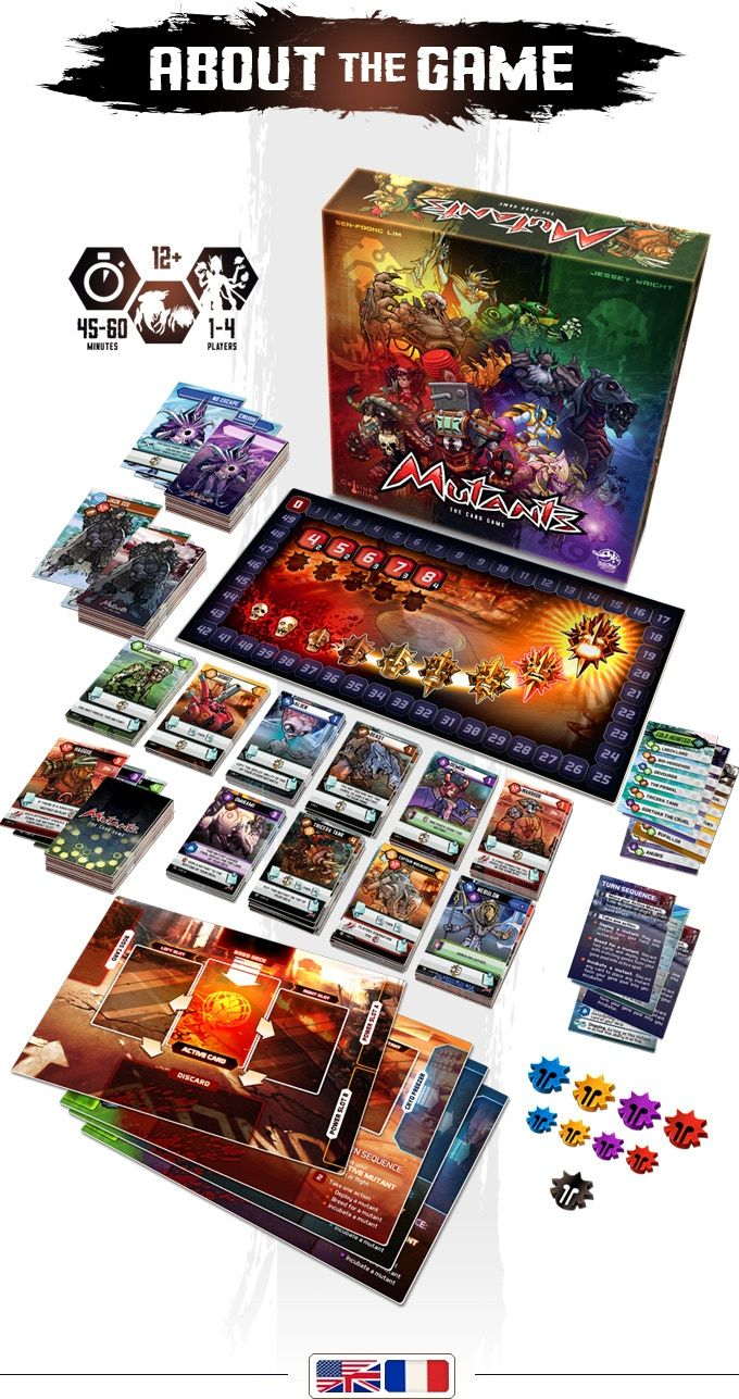 Components Mutants Board Game Design Tabletop Games Card Games