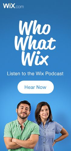 Looking for small business tips, and some serious entertainment? Introducing the New Wix Podcast: Who, What, Wix!  Discover the only small business podcast you'll ever need. We've got stories you'll love and creative marketing advice you can use.   Take a listen: www.whowhatwix.com