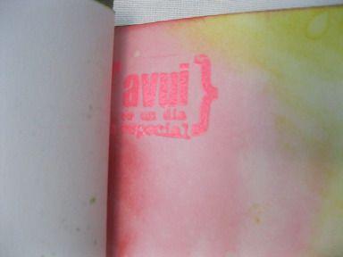 Taller de tintas en Papers de sucre