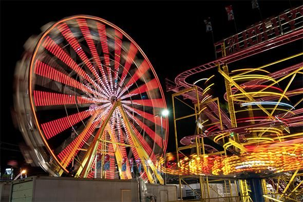 Check out the CNE at night in our photo of the day http://bit.ly/1NEDOF5 #POTD #CNE2015