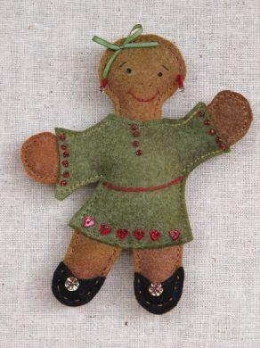 CHRISTMAS ; Little Miss Gingerbread
