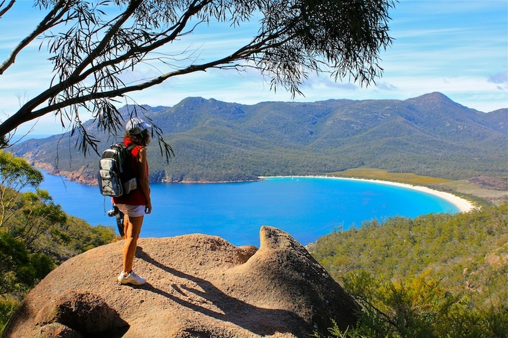 Wineglass Bay Granite View - prints and downloads available