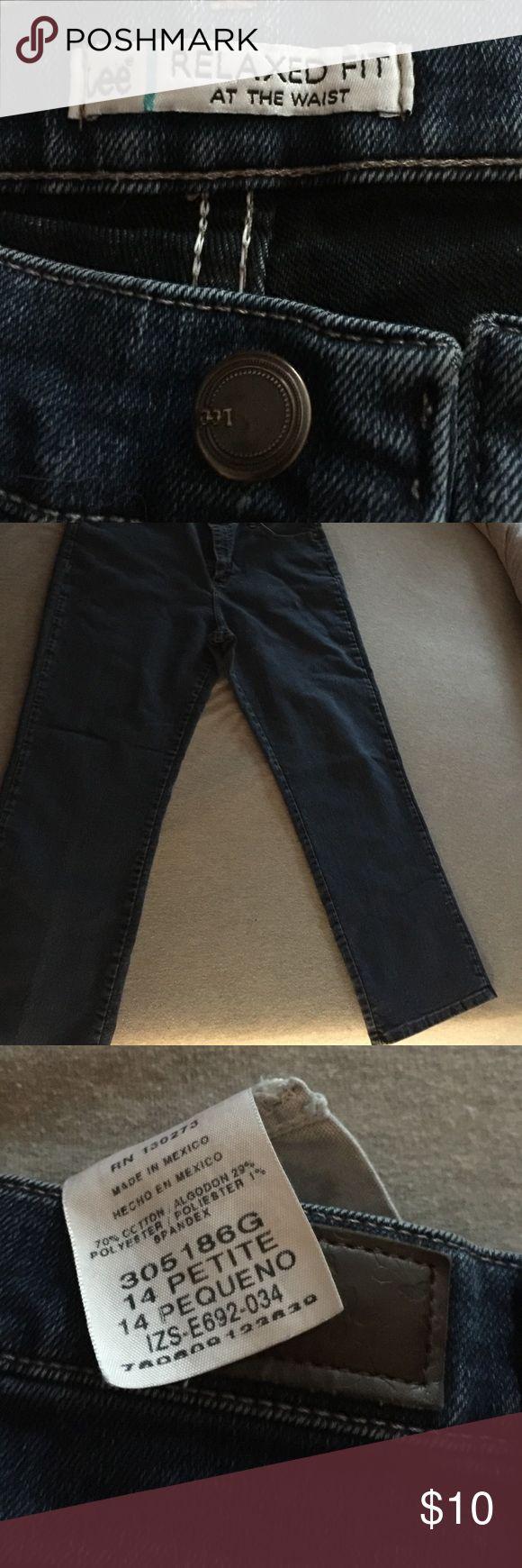 Lee jeans Dark blue lee jeans Lee Jeans Boot Cut