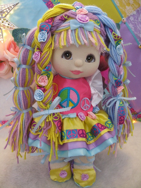 OOAK Mattel My Child Doll Peace Fairy ~ Standing