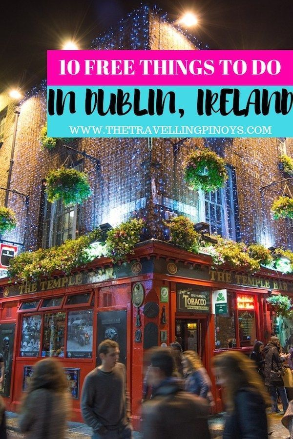 10 things to do in dublin for free