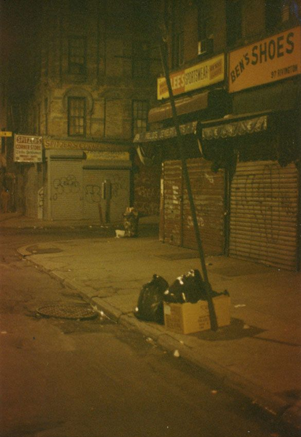 80s new york, lower east side I like this and I can't explain why