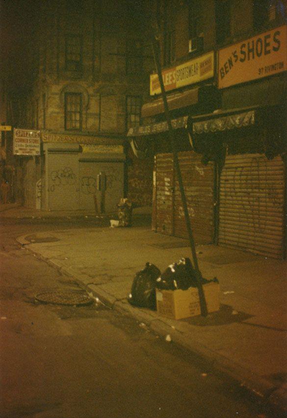 Lower East Side, 1980's